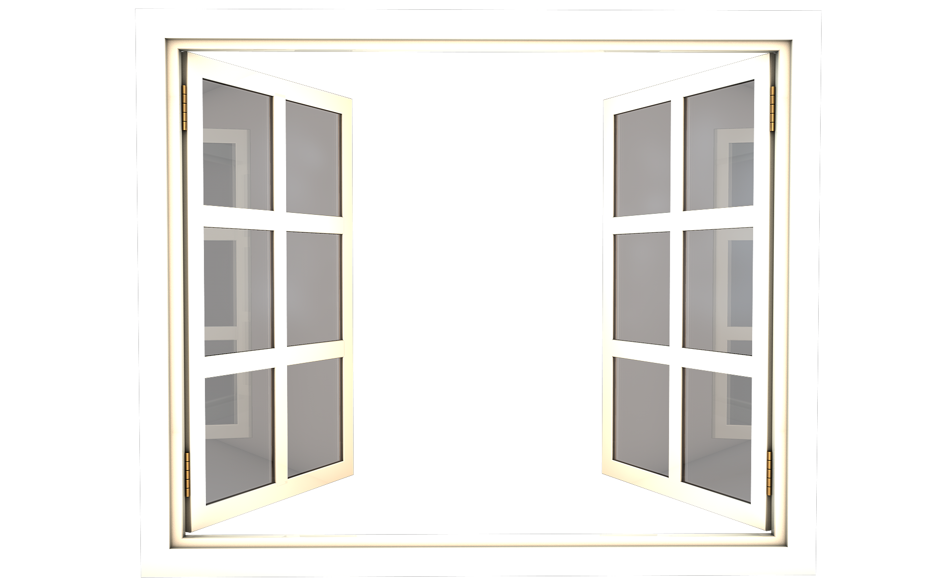 White clipart window frame. Png image purepng free