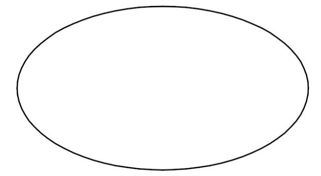 Shape . Oval clipart