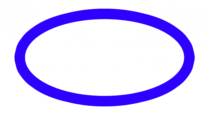 Oval clipart. Station