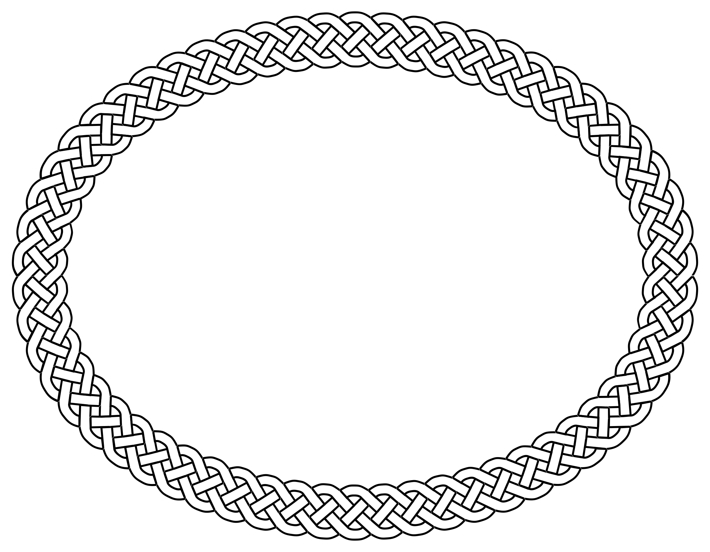 Oval border png. Black and white transparent
