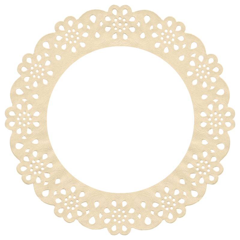 Favorite scrap paper shebbi. Oval clipart round mat