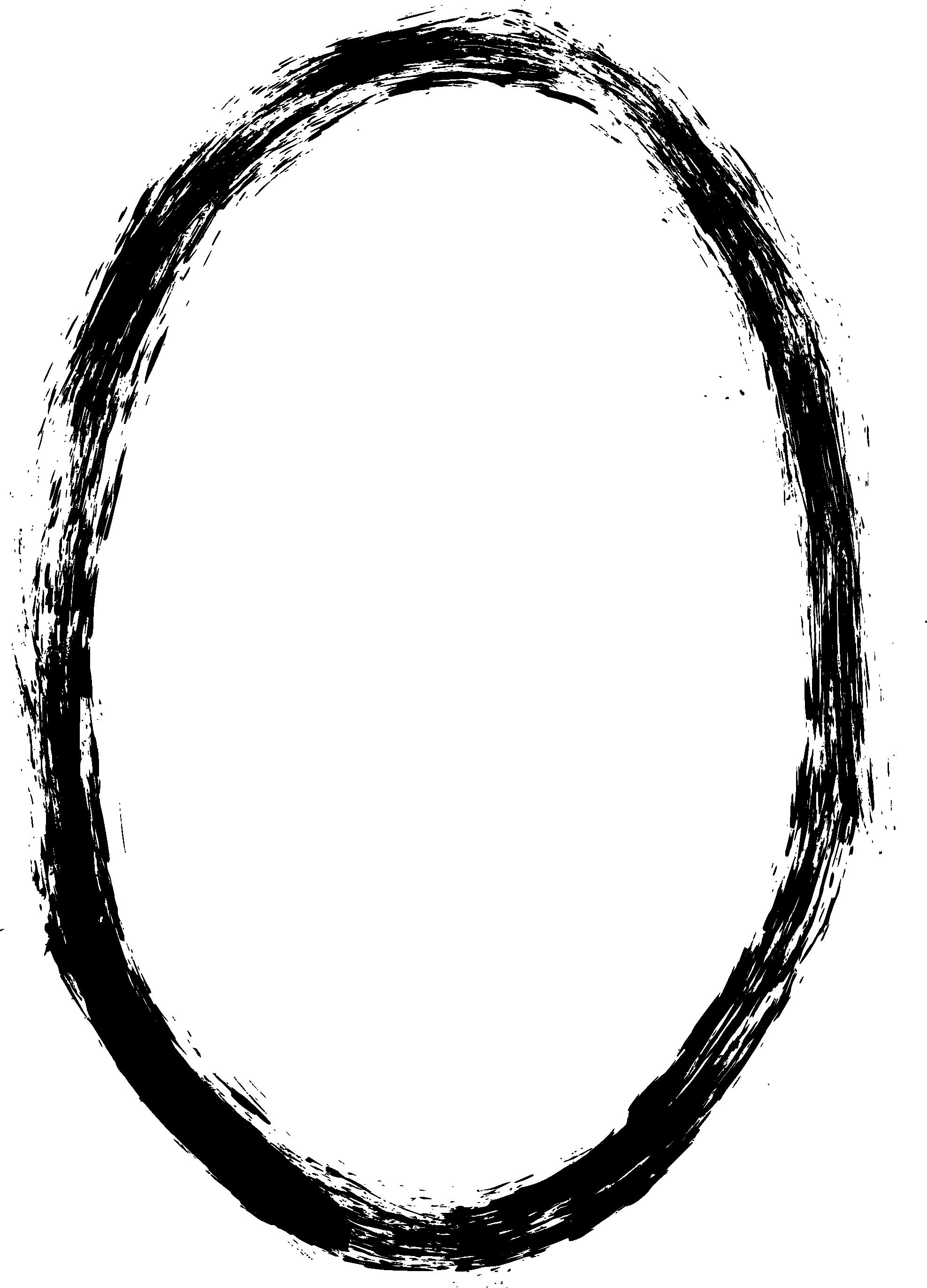 Oval frame png.  grunge transaprent onlygfx
