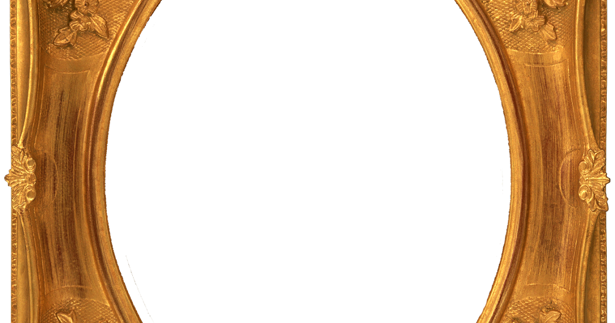Oval gold frame png. Terrasource info