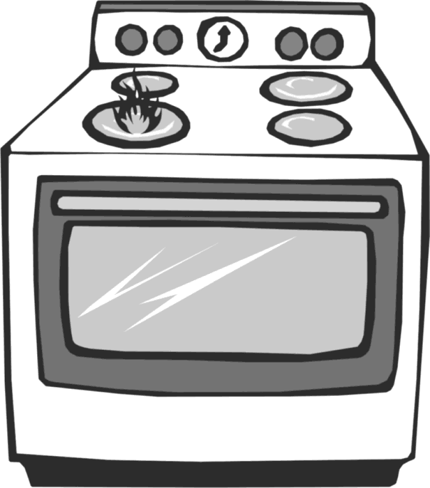 collection of transparent. Oven clipart