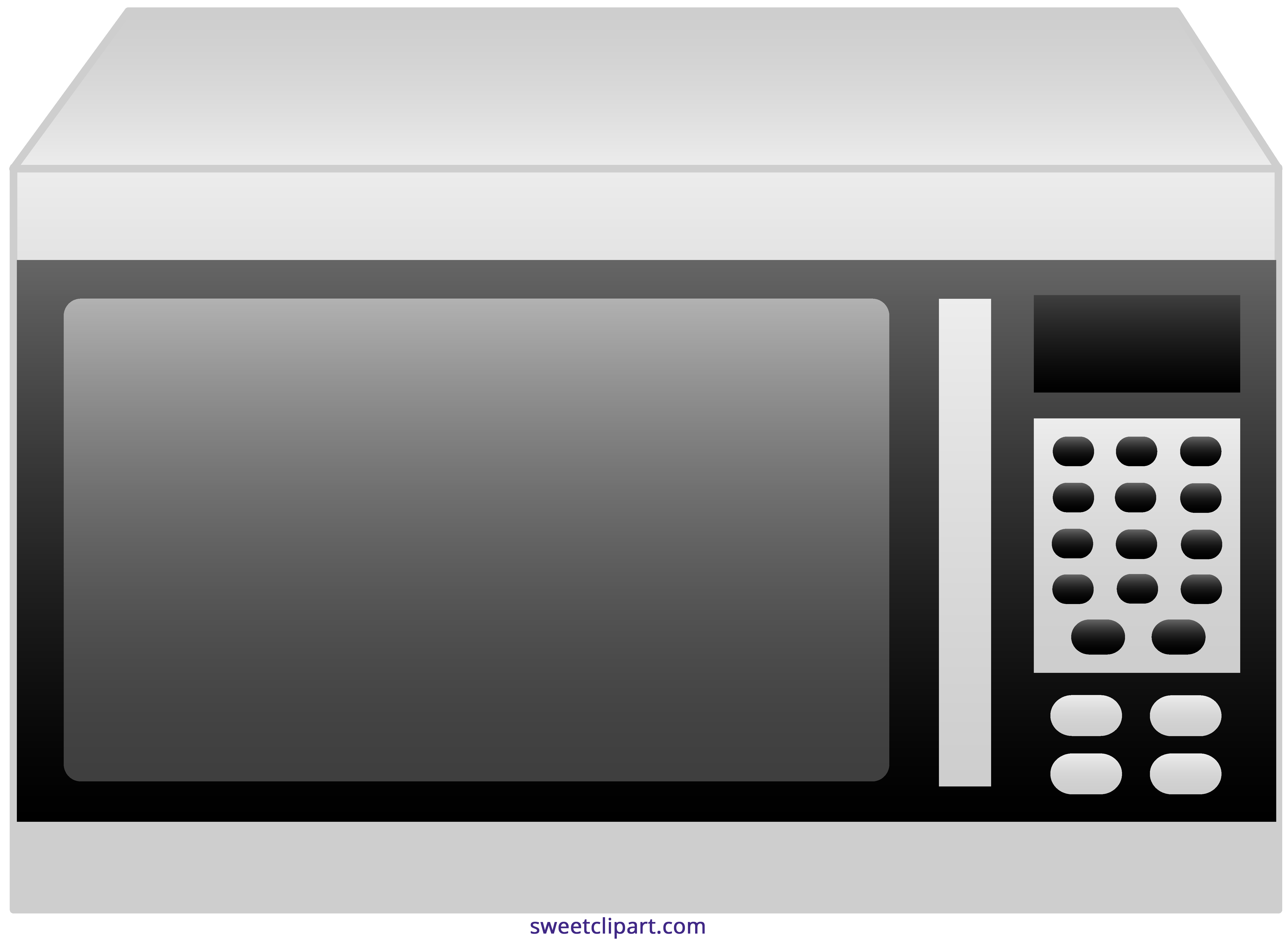 Microwave sweet clip art. Oven clipart