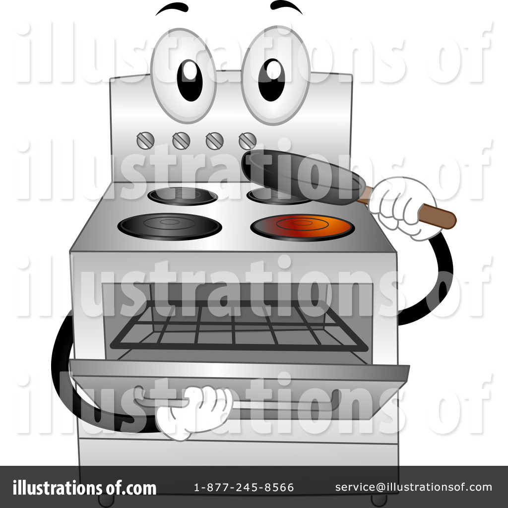 Illustration by bnp design. Oven clipart