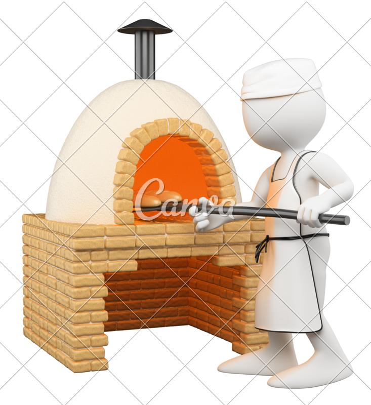 Oven clipart kitchen furniture.  d baker making