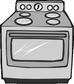 . Oven clipart