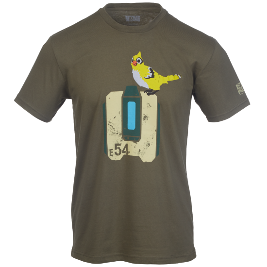 Overwatch bastion png. Blizzard gear store shirt
