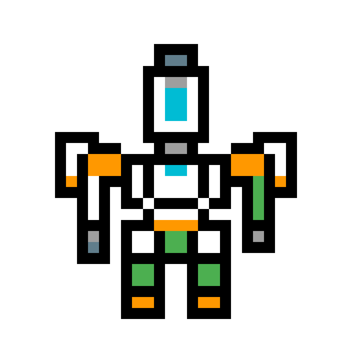 Pixilart from by chris. Overwatch bastion png
