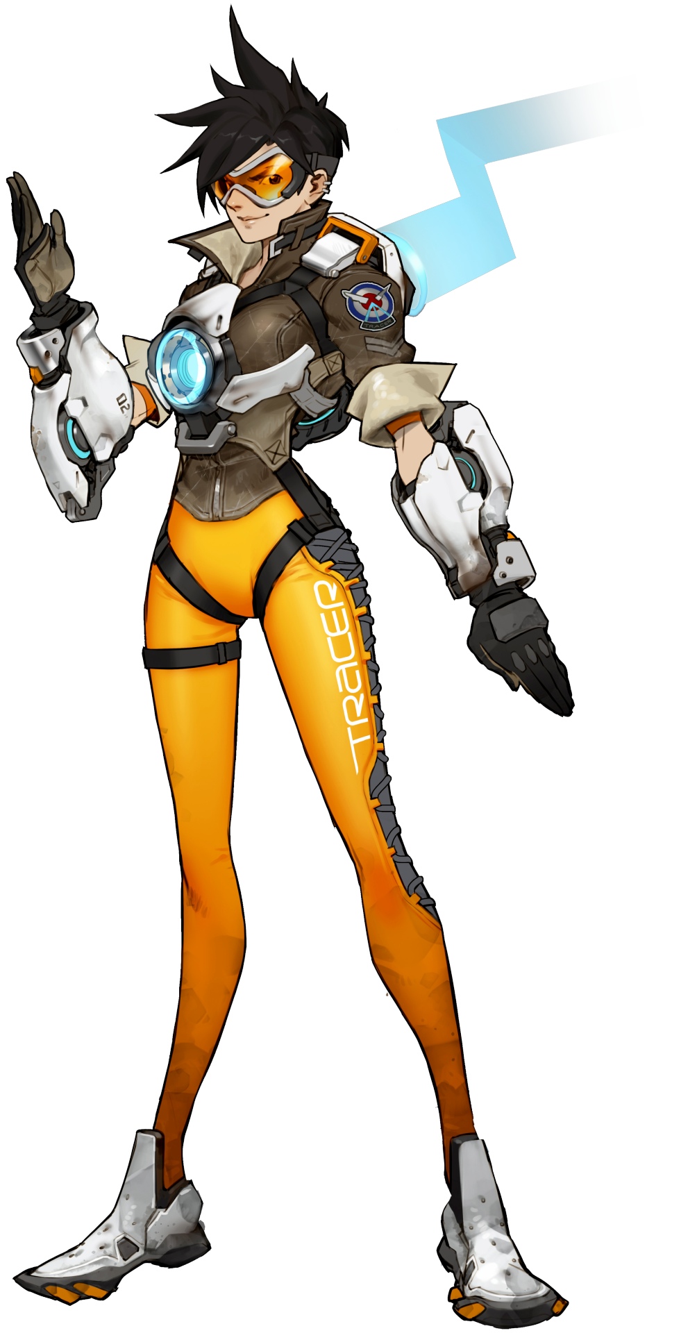 Overwatch character png. Image tracer heroes wiki