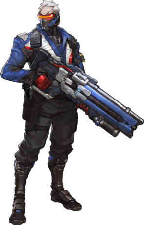 Overwatch character png. Soldier liquipedia wiki from