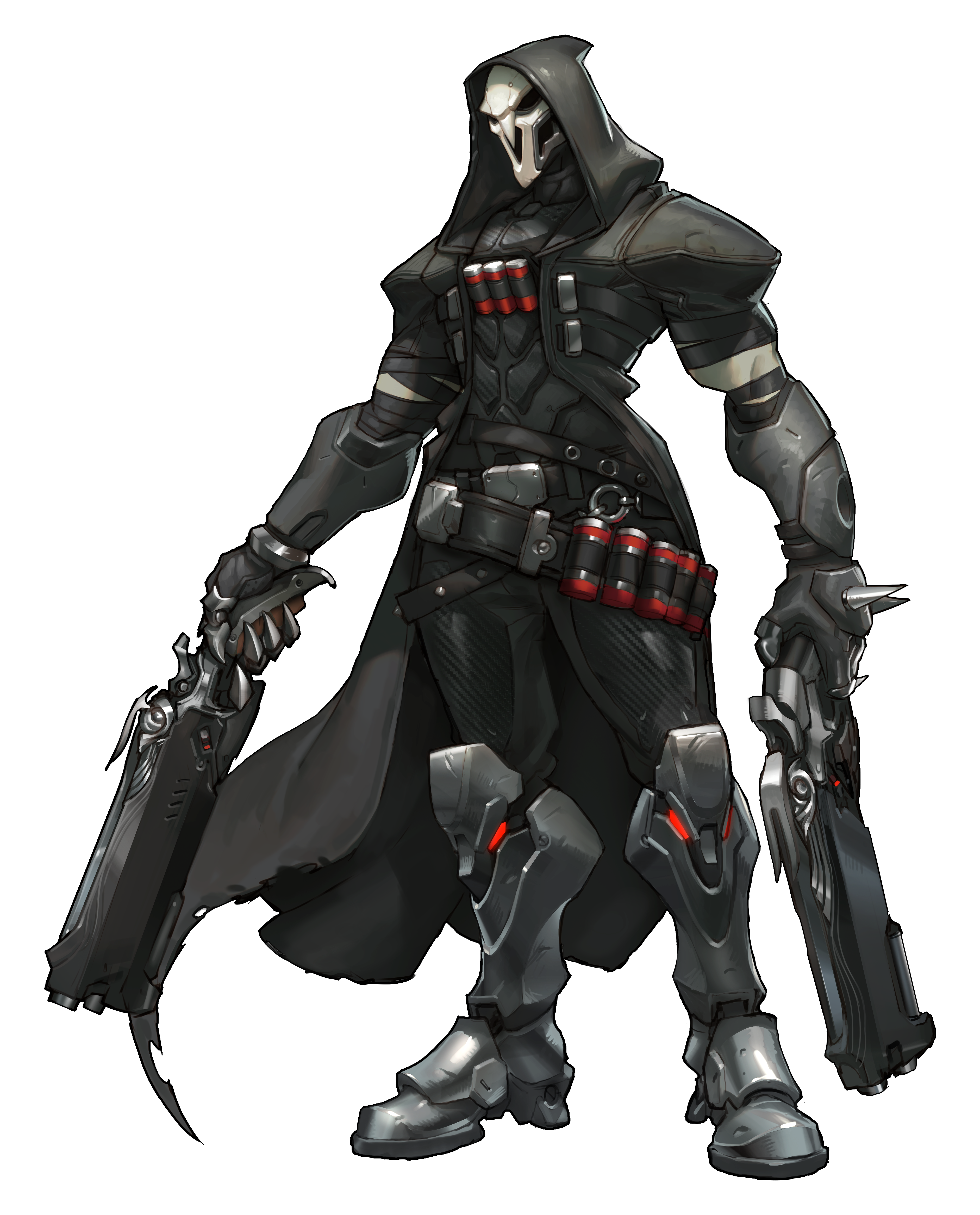 Archives blizzplanet reaper is. Overwatch character png