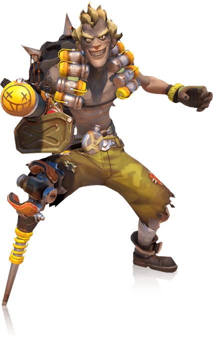 Here are some character. Overwatch characters png