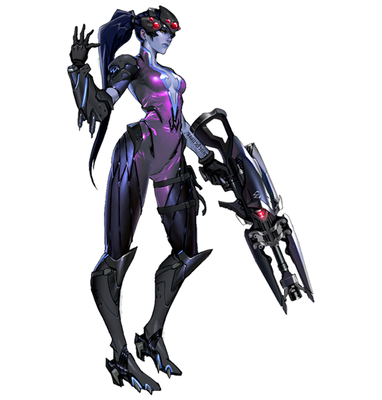 Overwatch genji png. Widowmaker andrew collab pinterest