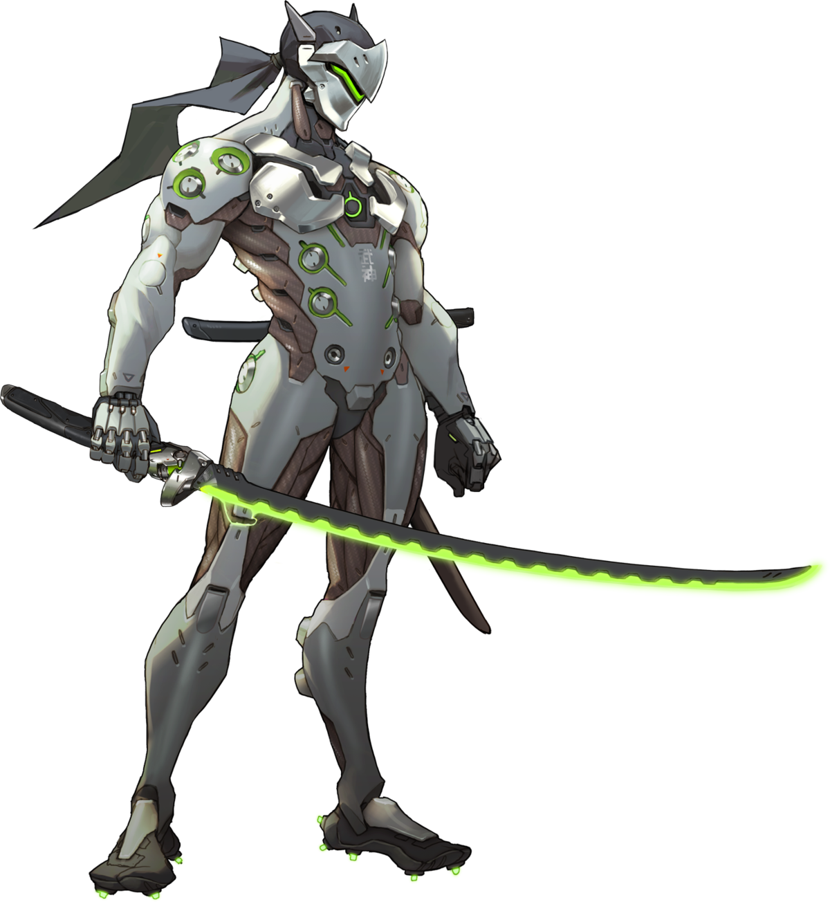 Wiki . Overwatch genji png