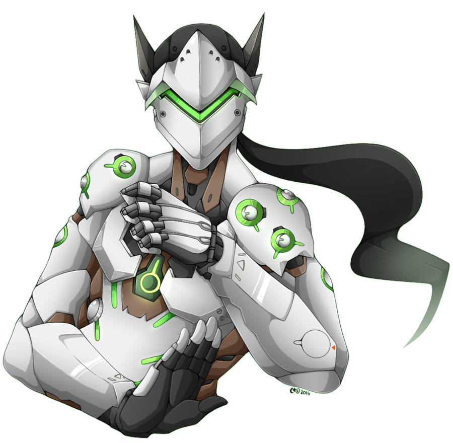 By gquin on deviantart. Overwatch genji png