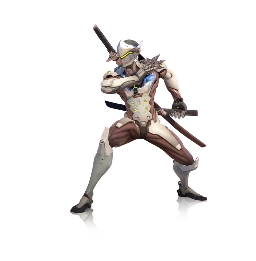 Render by popokupingupop on. Overwatch genji png