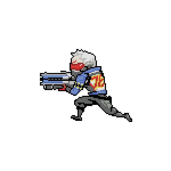Overwatch gif png.  mccree pixel spray