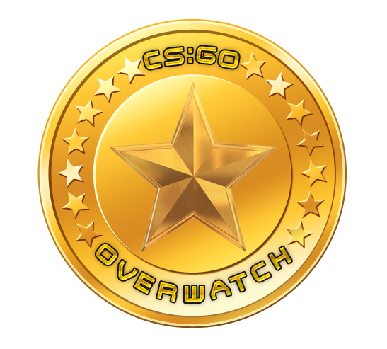 Overwatch gold medal png. Steam community coin final