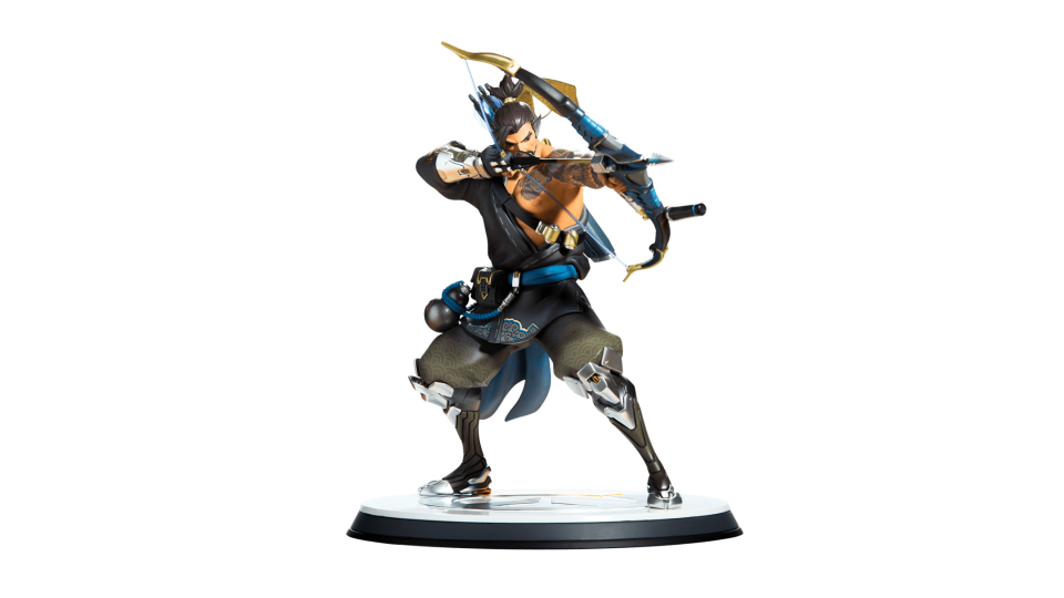 Statue blizzard gear store. Overwatch hanzo png