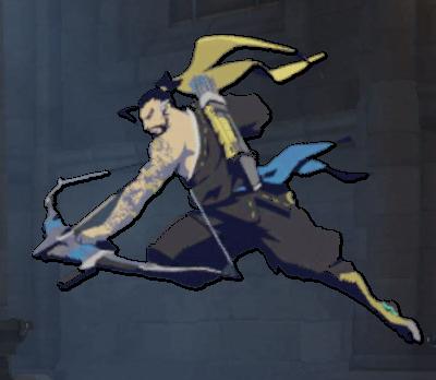 Image spray archer wiki. Overwatch hanzo png