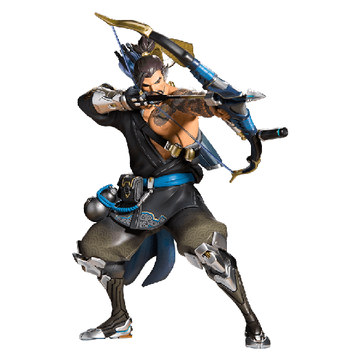 Overwatch hanzo png. Blizzard collectibles gear store