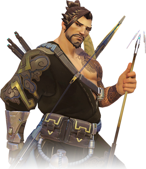 Overwatch hanzo png. Image portrait wiki fandom