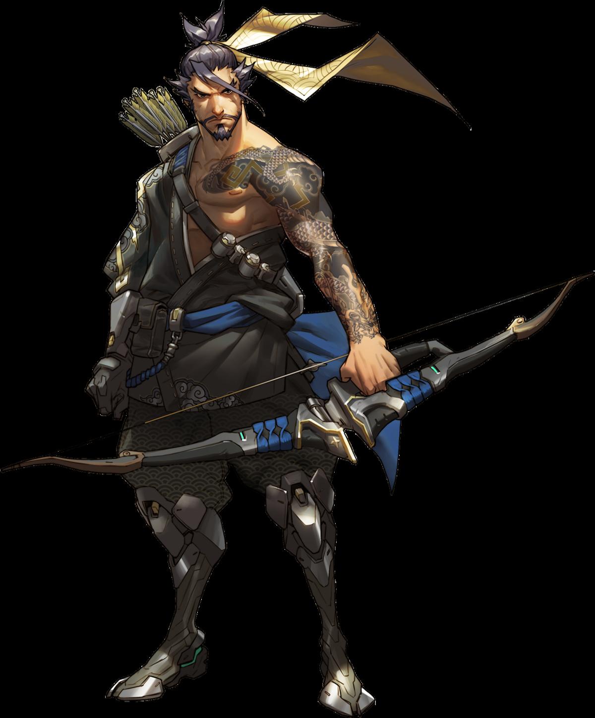 Overwatch hanzo png. Wiki