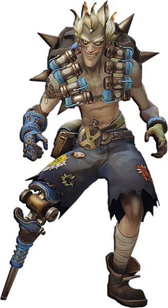 Of psd official psds. Overwatch junkrat png