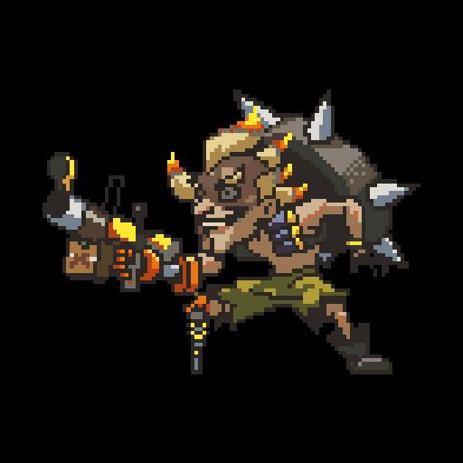 Image pixel wiki fandom. Overwatch junkrat png