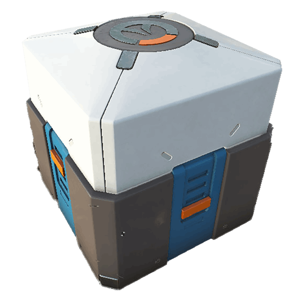 Overwatch loot box png. Blizzard cookie jar eb