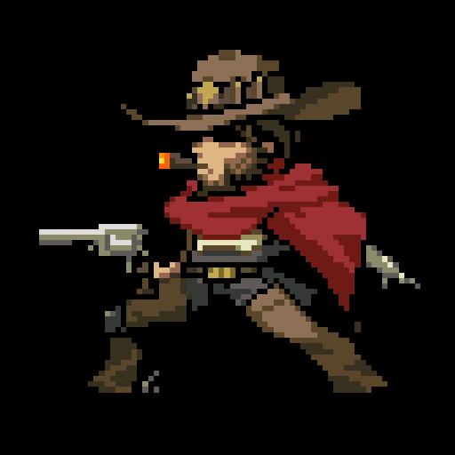Overwatch mccree png. Image pixel wiki fandom