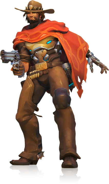 Overwatch mccree png. Character profile wikia fandom
