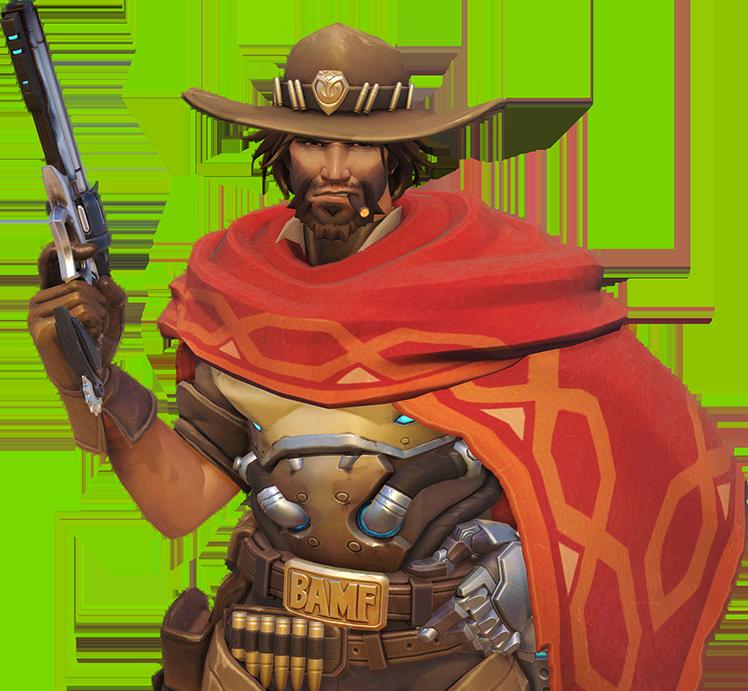 Overwatch mccree png. Image portrait wiki fandom