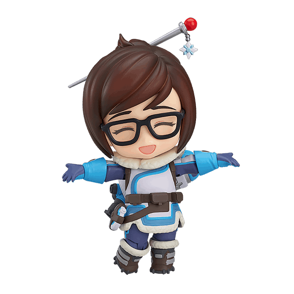 Nendoroid action figure eb. Overwatch mei png