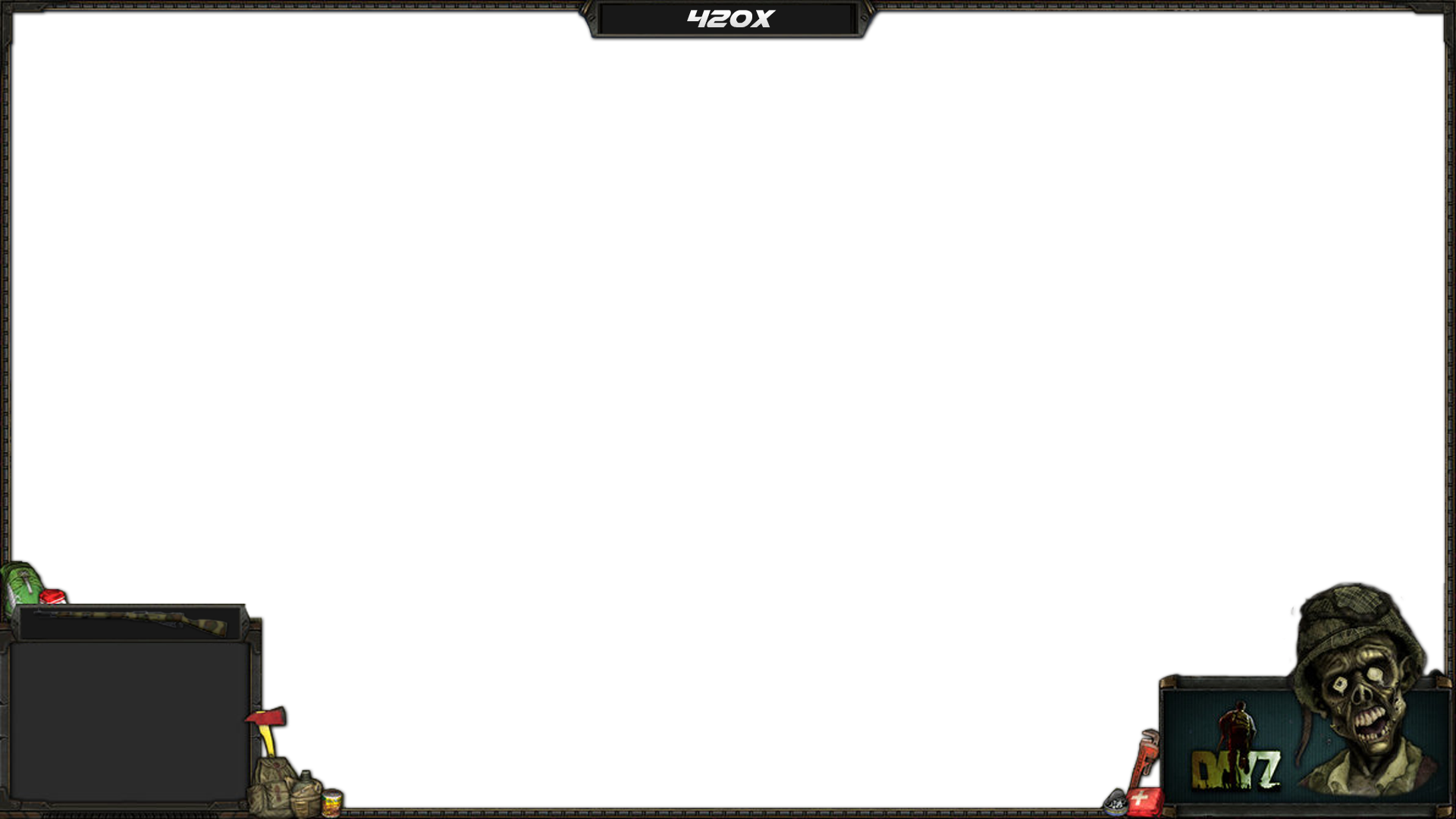 Overwatch overlay png. Dayz for streaming tv