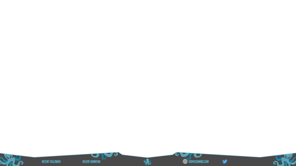 Overwatch overlay png. Tropic gaming twitch for