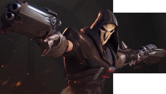 Overwatch png. Reaper render by popokupingupop