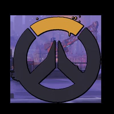 Overwatch png. Image spray dark logo