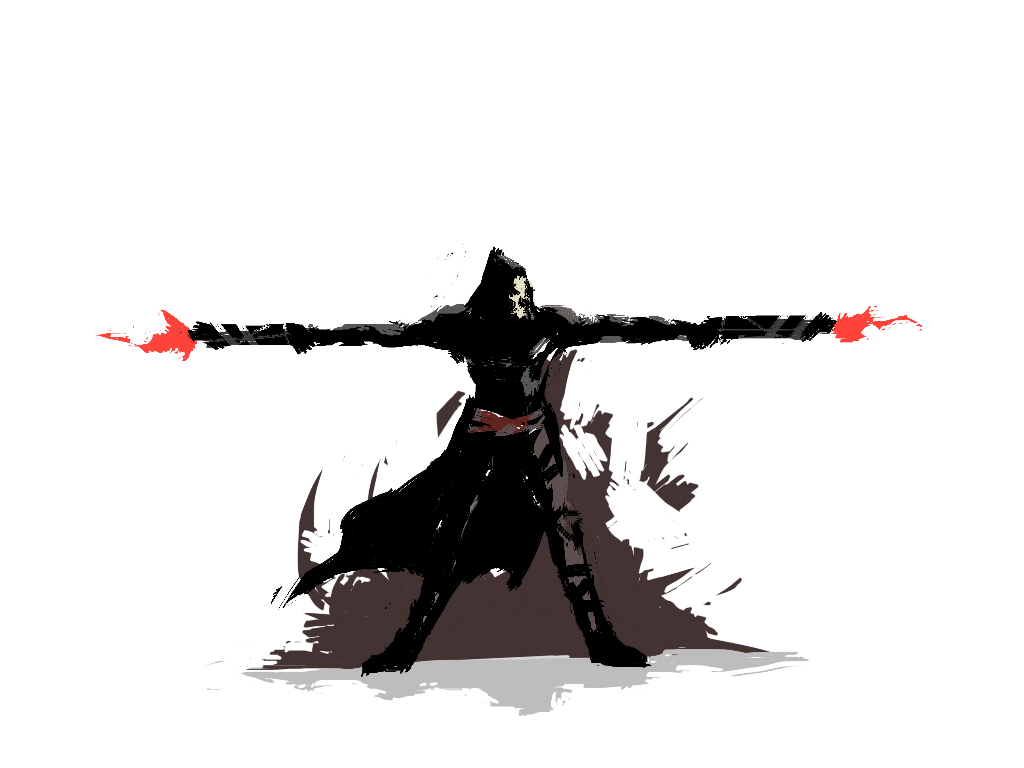 Overwatch reaper png. Library stock