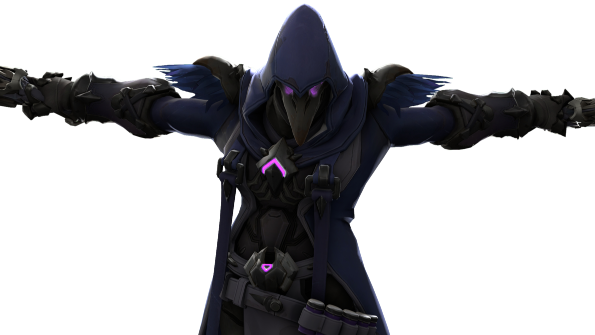 In k ultimate by. Overwatch reaper png