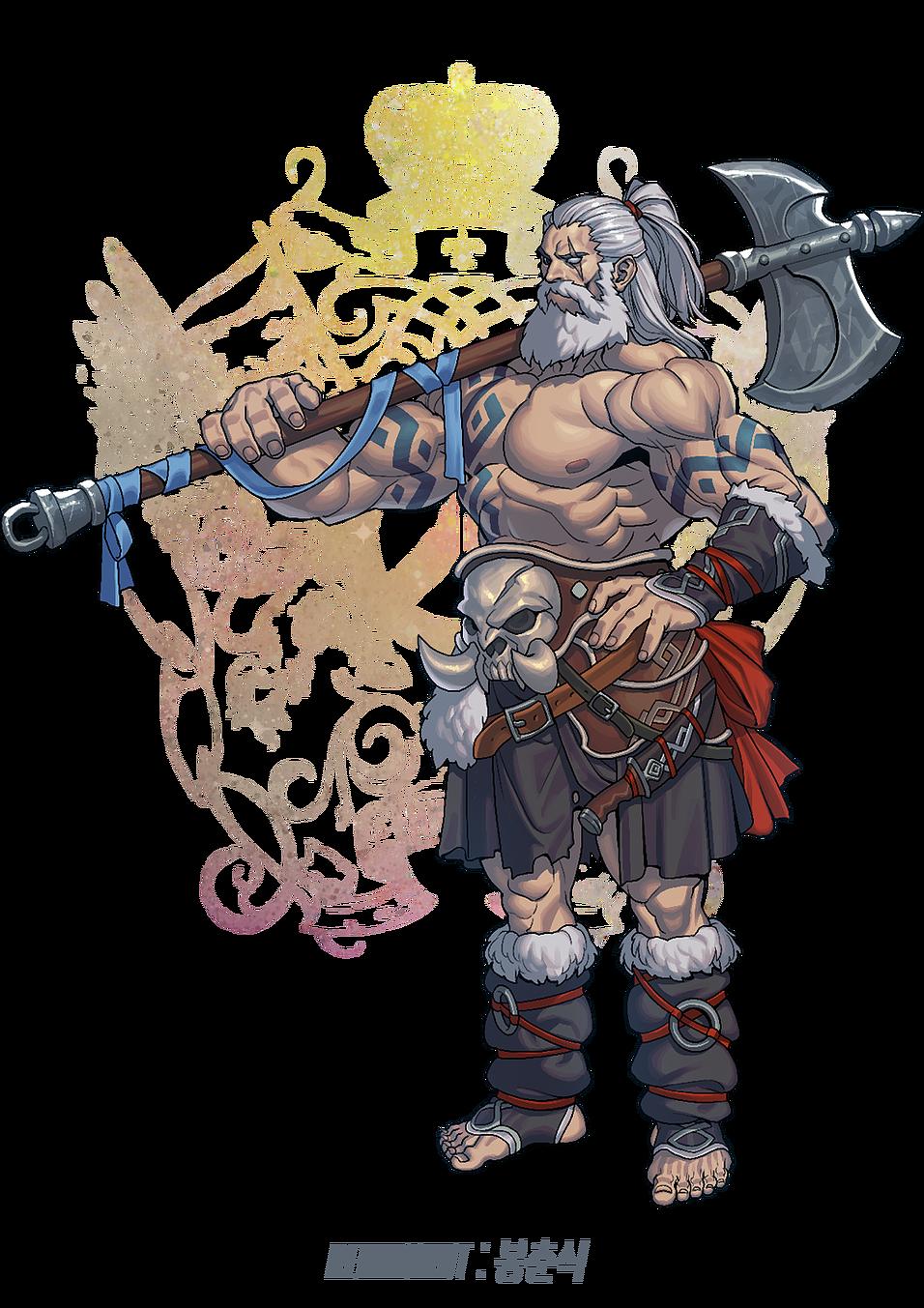 Fantasia character design pinterest. Overwatch reinhardt png