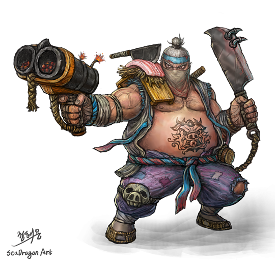 Overwatch roadhog png.  for free download