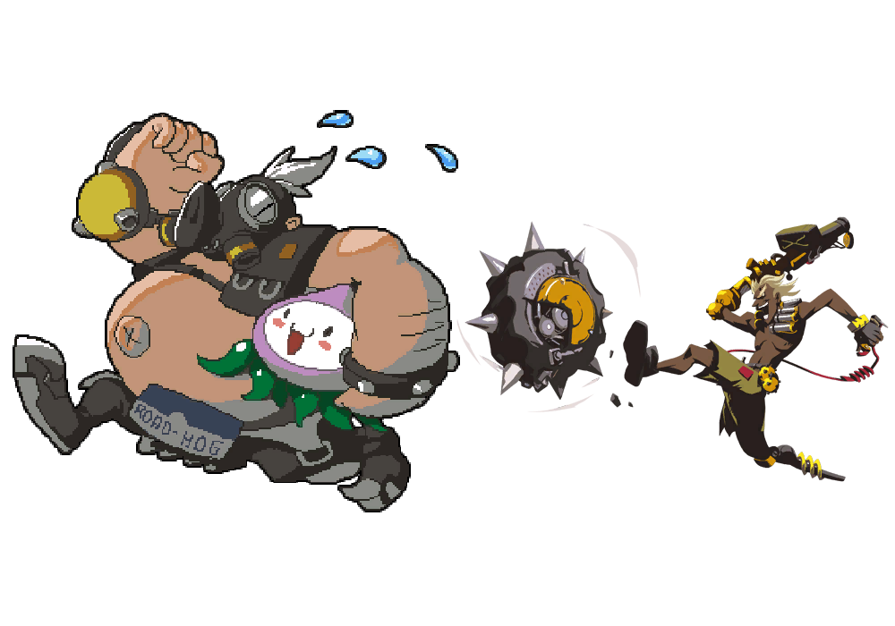 In a fit of. Overwatch roadhog png