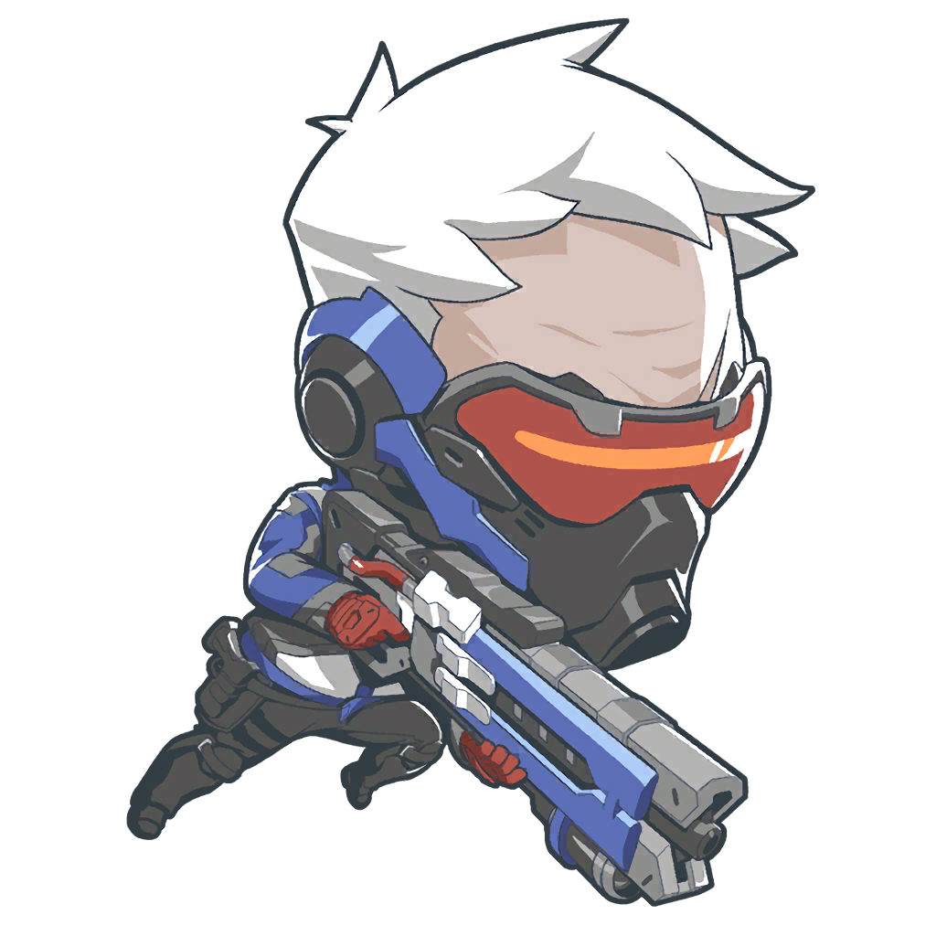 Image cute wiki fandom. Overwatch soldier 76 png