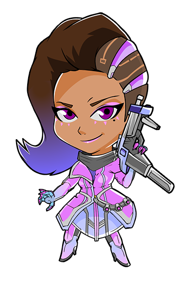 Overwatch sombra png. Cute spray httpiimgurcomqmtqopng