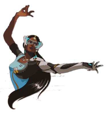 Image spray pose wiki. Overwatch symmetra png