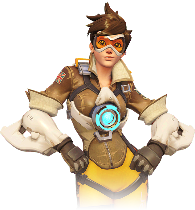 Image portrait wiki fandom. Overwatch tracer png