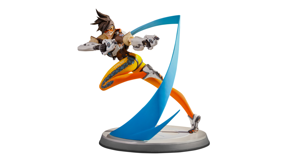Statue blizzard gear store. Overwatch tracer png